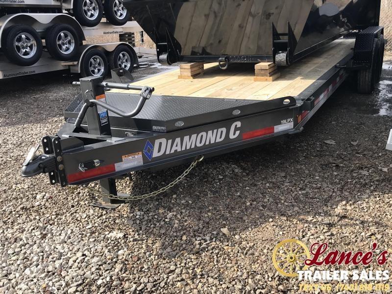 "2019 Diamond C 82""x20' Low Pro Equipment Trailer"