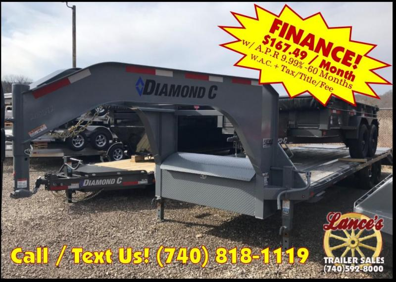2018 Diamond C FMAX 207 25' Equipment Trailer J1200572
