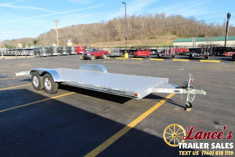 2018 Featherlite 3182 20' Aluminum Open Car Hauler