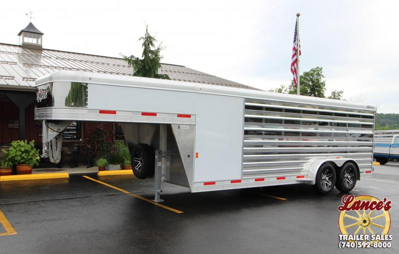 "2019 Exiss ""Exhibitor"" 20' Livestock Trailer w/Air Gaps"