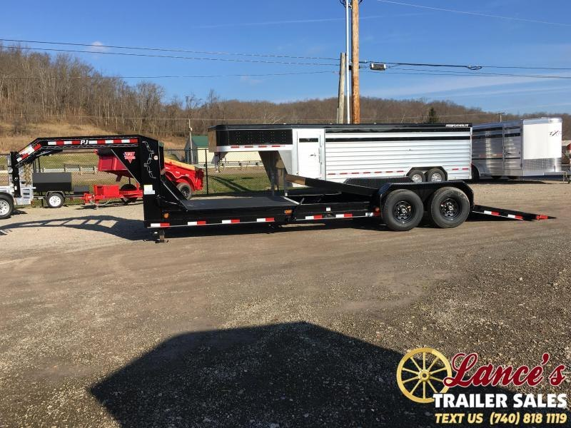 2019 PJ 82 X 24' EQUIPMENT GOOSENECK TILT