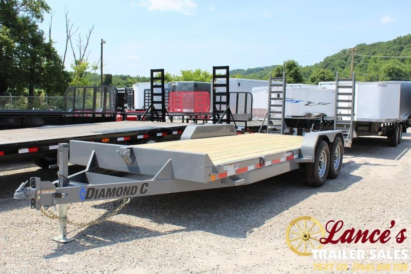 "2019 Diamond C 20'x82"" Equipment Trailer"