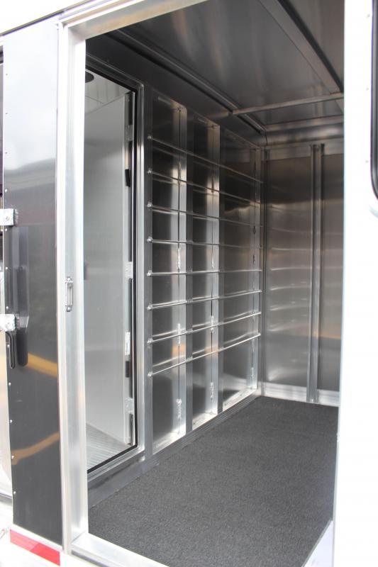 "2019 Exiss ""Exhibitor"" 24' Livestock Trailer w/Windows"