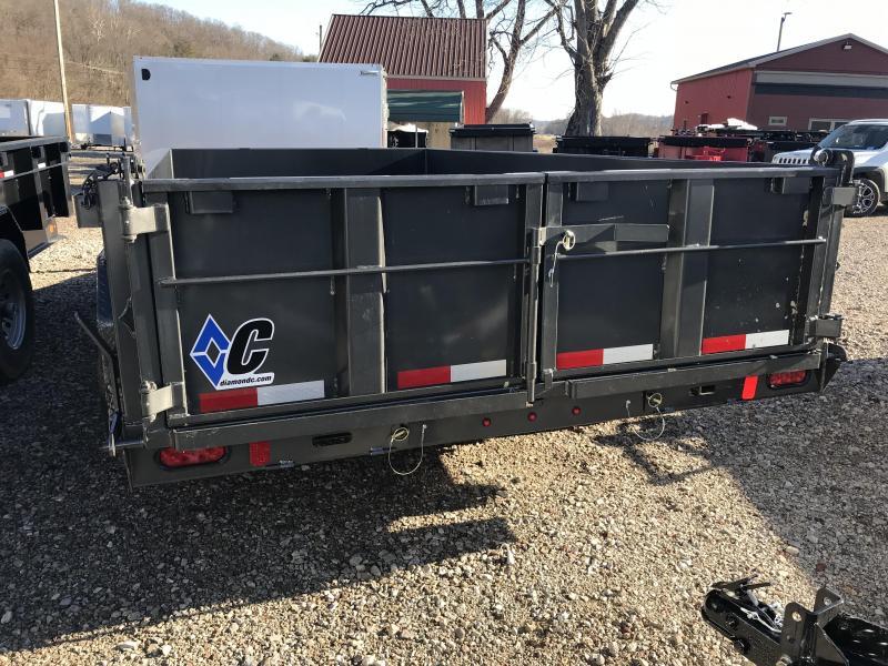 """2019 Diamond C 82""""x14' Dump Trailer K1207551"""