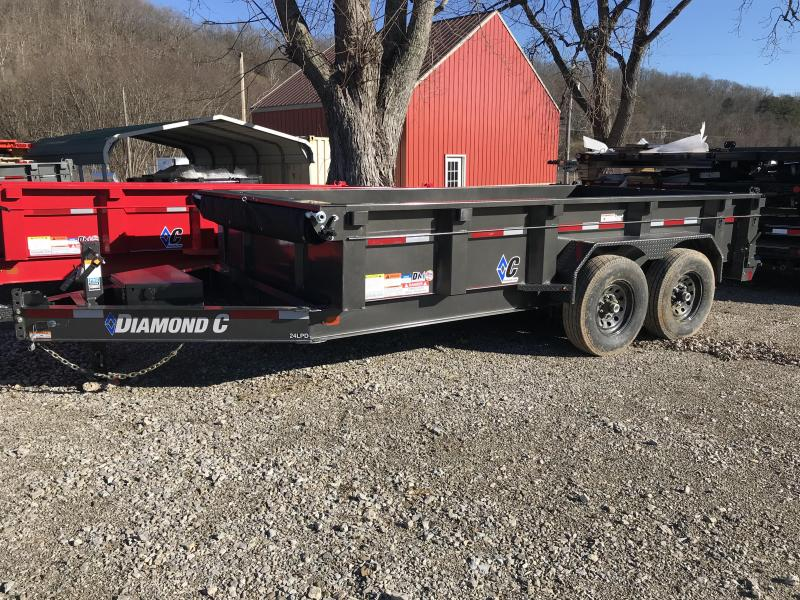 "2019 Diamond C 82""x14' Dump Trailer K1208297"