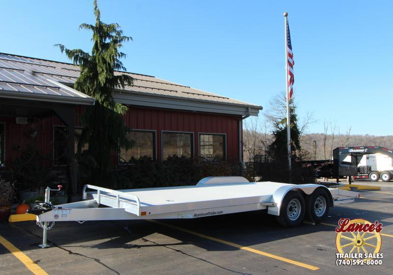 2019 ATC Aluminum 20' Open Car Hauler 10k-Torsion
