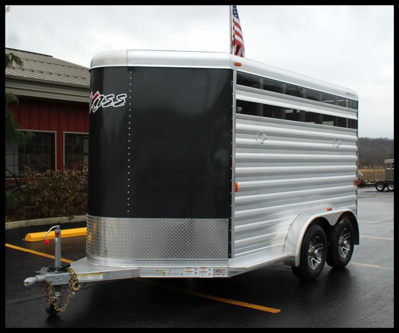2018 Exiss Express CX 2-Horse Slant Load Trailer