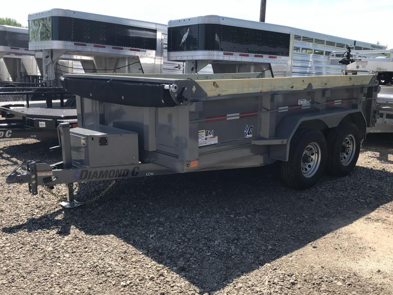 "2019 Diamond C 77""x12' Dump Trailer K1214304"