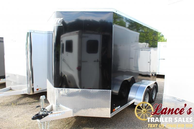 2020 ATC 7'x12'x6' Enclosed Cargo Trailer
