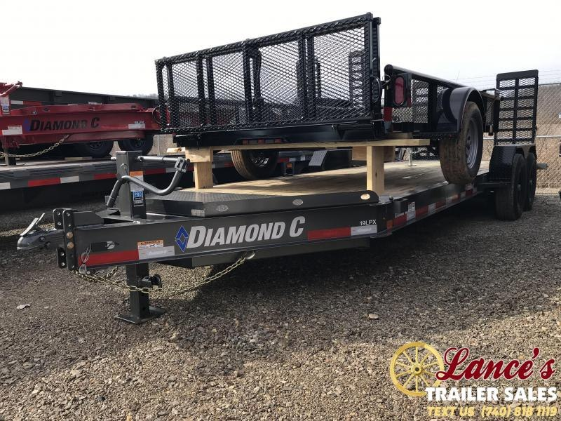 "2019 Diamond C 82""x20' Low Pro Equipment Trailer K1206904"