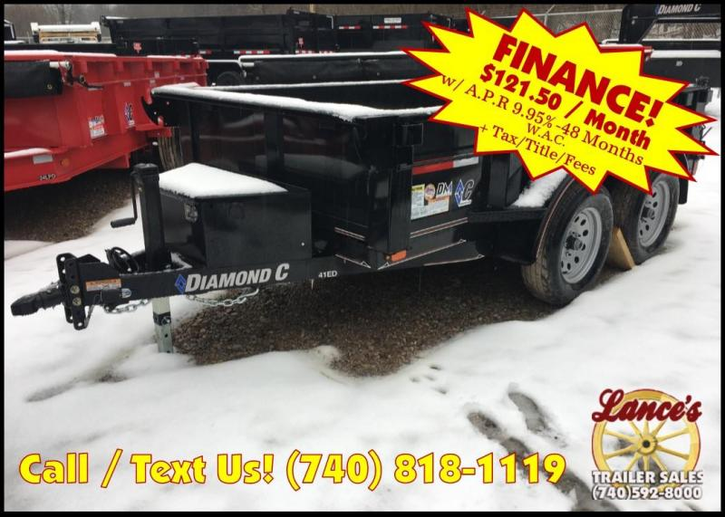 "2019 Diamond C 60""x10' ""Value Leader"" Dump Trailer K1206953"