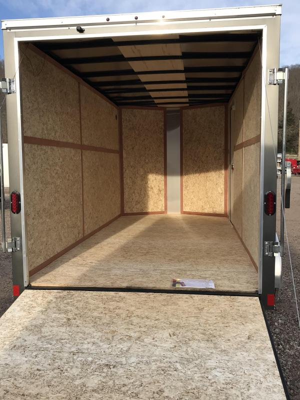 2018 Haulmark Passport 7'x12' Tandem Axle Cargo Trailer JH370387
