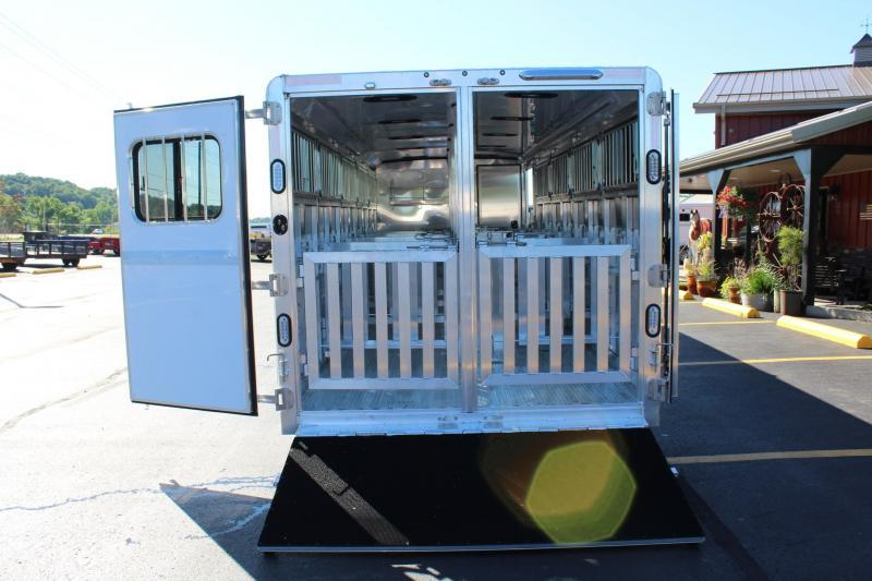 2020 Exiss Exhibitor Low Pro Gooseneck Show trailer -24'