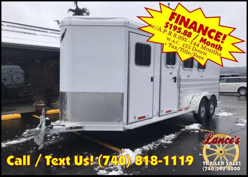 2019 Featherlite 9409 3 Horse Slant Load Trailer KC150686