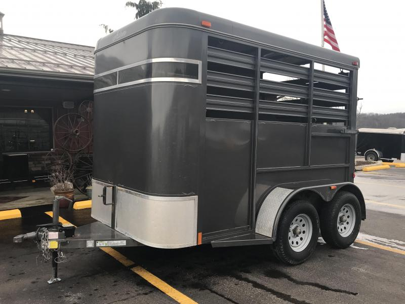 2015 Adam 2 Horse Straight Load Trailer ER025282