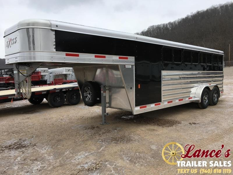 2019 Exiss Exhibitor 20' Low Pro Show Gooseneck Trailer w/ Windows