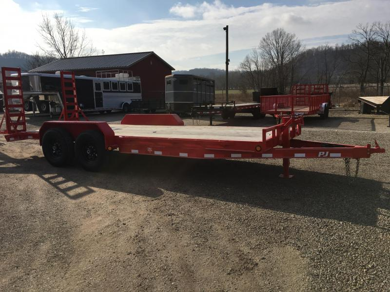 "2019 PJ 83""x20' 6"" Channel Trailer K3036233"