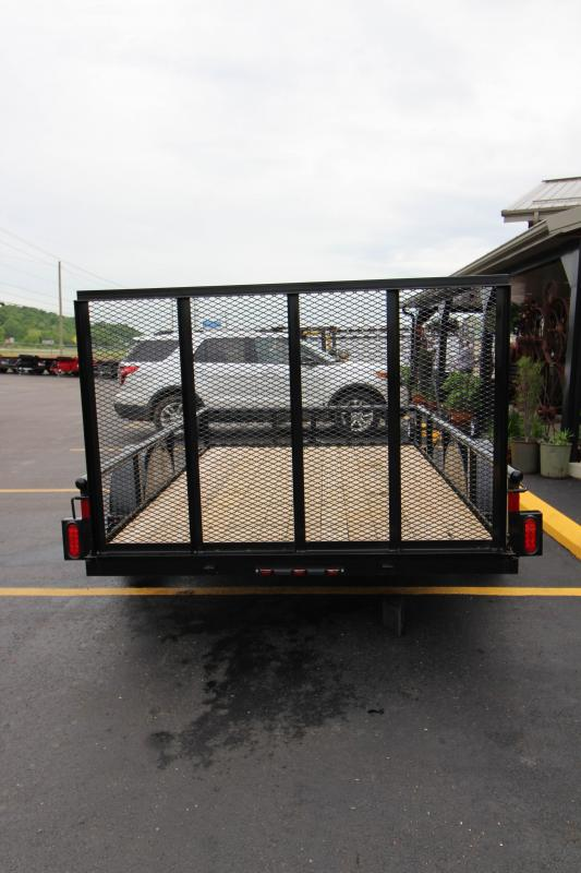 "2018 Diamond C Ranger 77""x10' Utility Trailer"