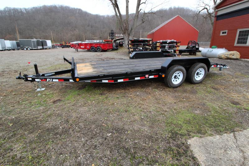 "2019 PJ Trailers 83""x18' 5"" Channel Car Hauler"