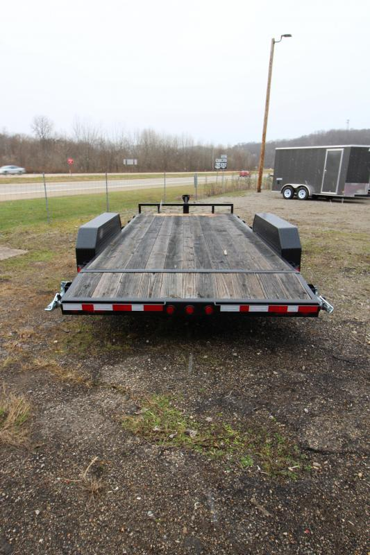 "2019 PJ Trailers 83""x18' 5"" Channel Open Car Hauler"