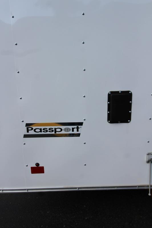 2018 Haulmark Passport 8.5'x18' WT 3 Enclosed Cargo Trailer