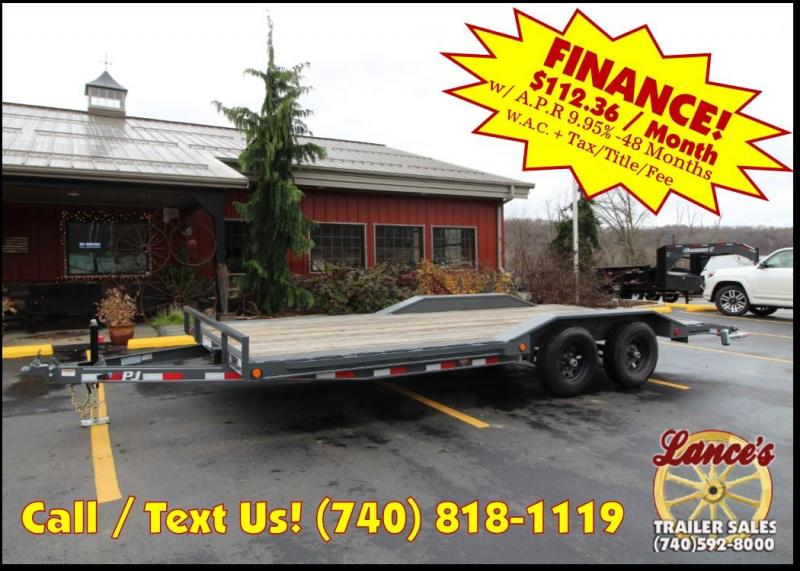 "2019 PJ 102""x20' 5"" Channel Trailer K3036532"