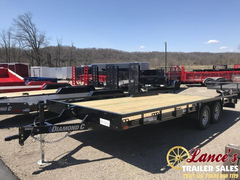 "2019 Diamond C MDT 98"" x 20' Trailer K1211216"