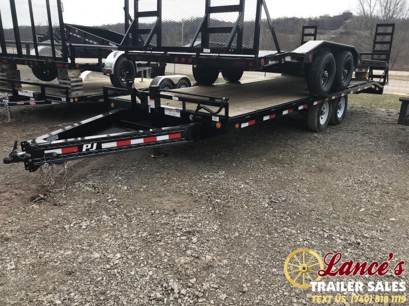 "2019 PJ 96""x22' 8"" Channel Equipment Trailer K3036493"