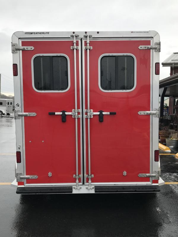 2018 Featherlite 9409 2 Horse Slant Load Trailer KC150683