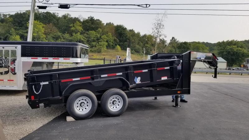 2018 Diamond C 7'x14' Heavy Duty Low Pro GN Dump Trailer