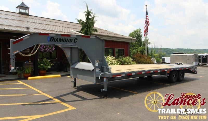 2018 Diamond C FMAX207 25' Equipment Trailer J1200573