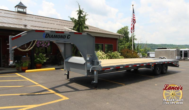 2018 Diamond C FMAX207 25' Equipment Trailer J1200573 in Ashburn, VA