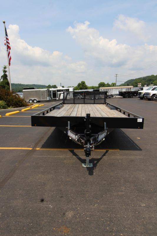 2018 Diamond C  47MD 20'  Mid-Deck Equipment Trailer