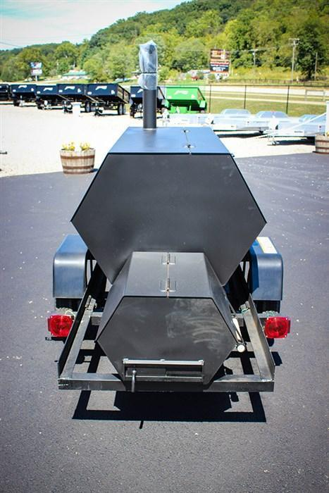 2018 Carry-On Smoker Grill Trailer