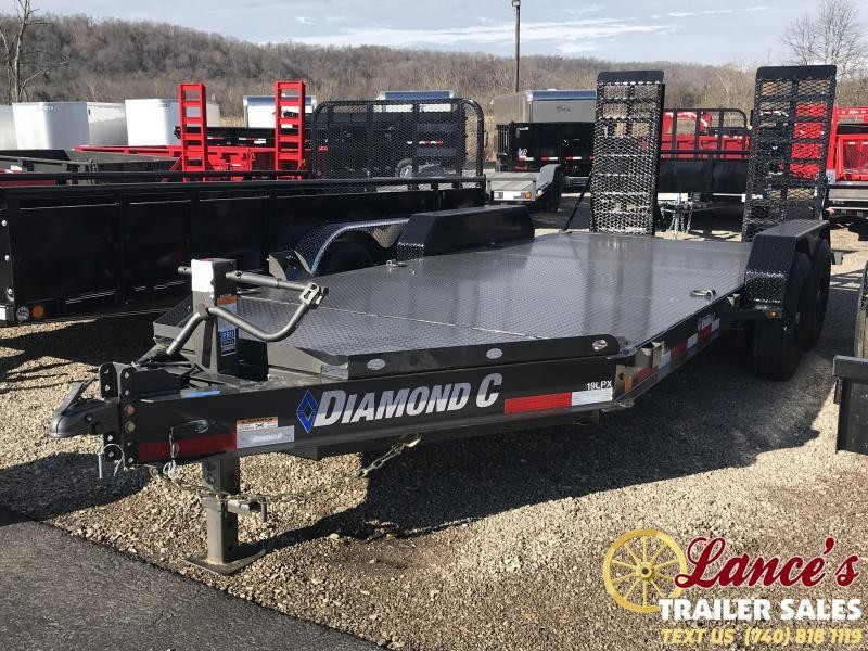 "2019 Diamond C 82""x16' Equipment Trailer"