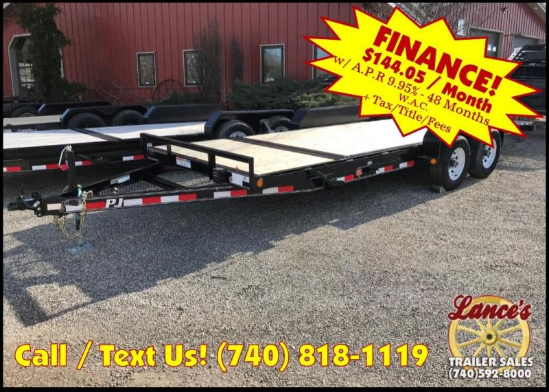 "2019 PJ 83""x20' 5"" Tilt Equipment Trailer K2191232"