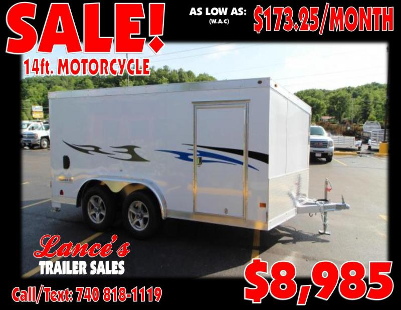 2018 Haulmark 14' Motorcycle Trailer