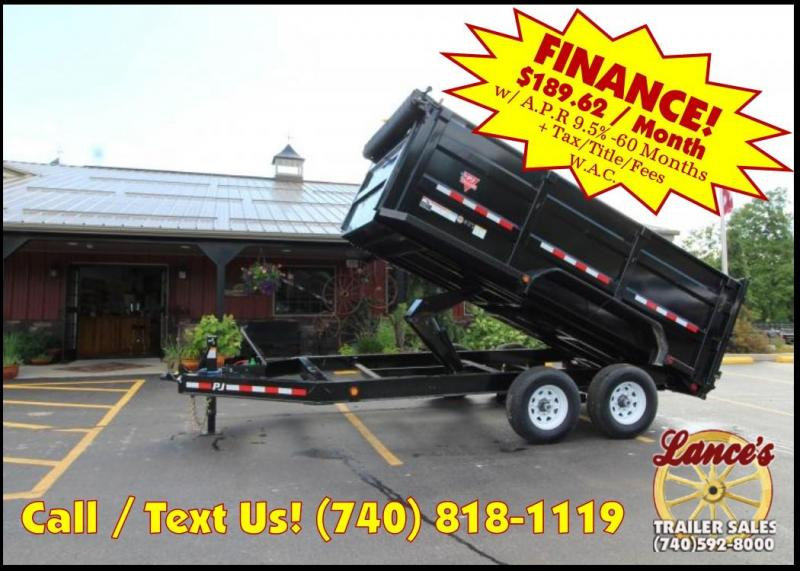 2019 PJ 7'x14' High Side Dump Trailer K3034434