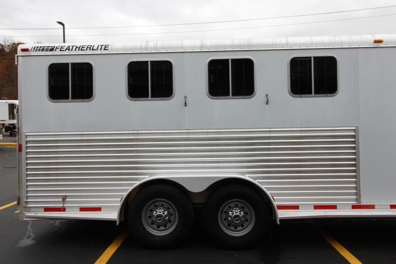 2002 Featherlite 4 Horse Trailer