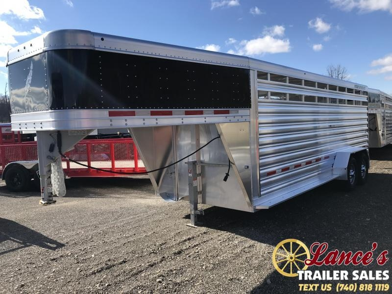2019 Featherlite 8117 20' Livestock Trailer KC151052