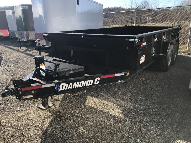 "2019 Diamond C 82""x14' Dump Trailer K1208296"