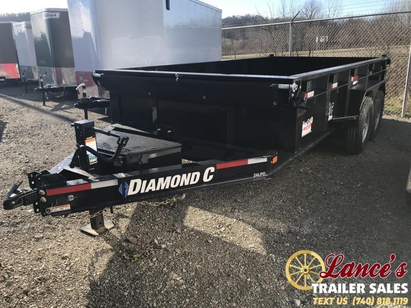 """2019 Diamond C 82""""x14' Dump Trailer K1208296"""