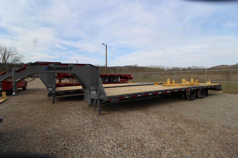 2018 Diamond C Trailers FMAX210 32' Equipment Trailer J1198340