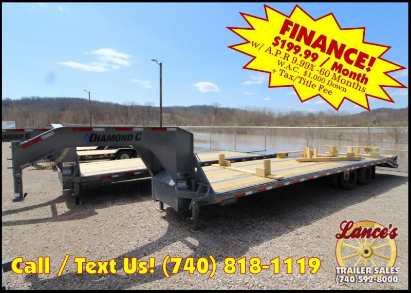 2018 Diamond C Trailers FMAX210 32' Equipment Trailer J1198340 in Ashburn, VA