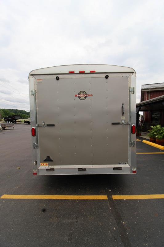 2007 Carry-On 7x16 Cargo Trailer
