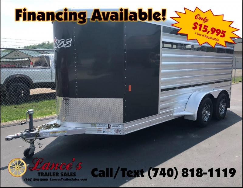 2019 Exiss Mini Combo Exhibitor Low Pro Show Bumper 15' Livestock Trailer K5072341