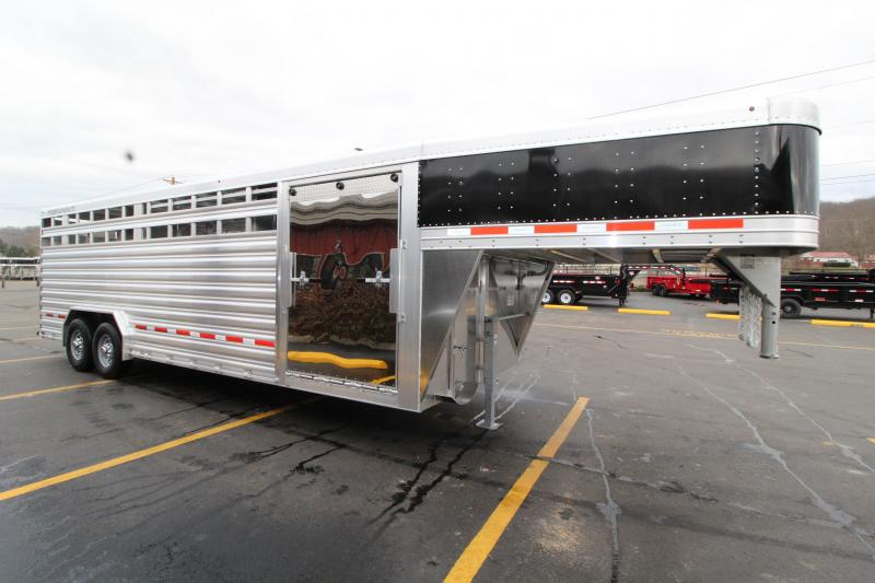 2019 Featherlite 8'x24' Show Cattle Trailer
