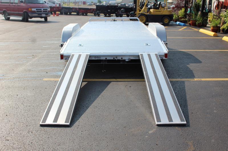 "2018 ATC STANDARD  82""x18'  Aluminum Open Car Hauler-7K-Spring"