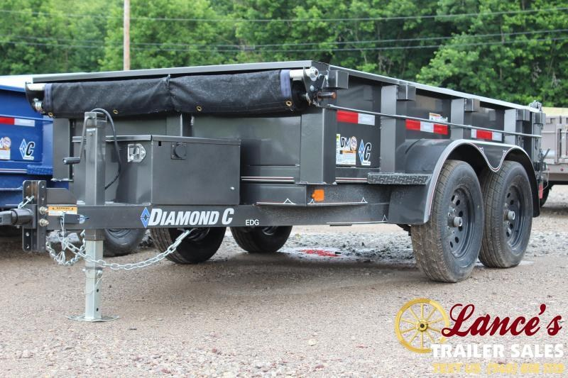 2019 DIAMOND C 5'x10' DUMP TRAILER