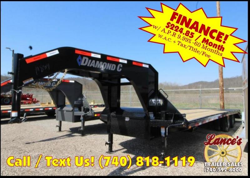 2018 Diamond C FMAX210 30' Equipment Trailer J1198419 in Ashburn, VA